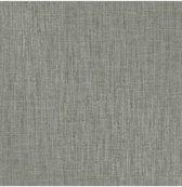 Essence uni grijs/groen behang (vliesbehang, grijs)