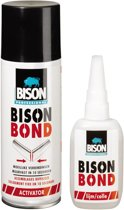 Bison Bond 50 G Lijm + 200 ml Activator