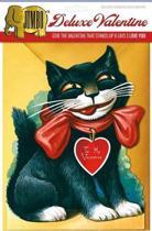 Smiling Cat Deluxe Valentine
