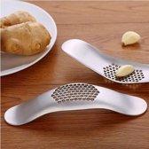 Rvs Knoflookpers keuken gadget