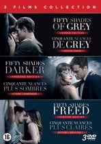 DVD cover van Fifty Shades Trilogy