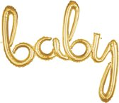 Script Phrase 'Baby' Gold