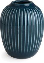 Kähler Design Hammershøi Vaas - Ø 8,5 cm - Hoogte 10 cm - Petrol