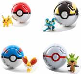 Afbeelding van Pokemon 4 x  ballen Funpack! met Pokemon Figuren - Pikachu Sleutelhanger, Pokemon Armband, Pokemon Stickers en Pokemon Tas, Plus maak kans op CHARIZARD PSA 10 HOLO SUN&MOON