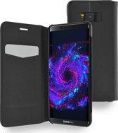 Azuri ultra dunne book case met staanfunctie - Voor Samsung Galaxy S8 - Zwart