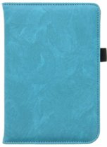 Turquoise luxe effen book case Pocketbook Touch Lux 3