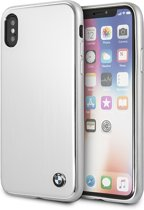 BMW Zilver Brushed Aluminium Hard Case iPhone X