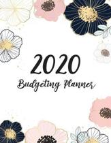 2020 Budgeting Planner: Floral Cover - Simple Finance Daily Weekly & Monthly Budget Planner Expense Tracker Bill Organizer Notebook - Budgetin