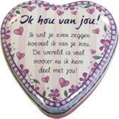 Valentijn - Lovely Tins - Ik Hou Van Jou