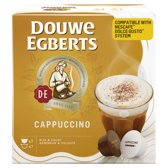 Douwe Egberts Cappuccino koffiecups - 3 x 2 x 7 cups