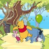 Dutch Wallcoverings Fotobehang Winnie the Pooh,  4-d
