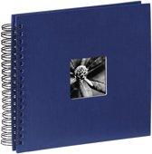 Hama Fine Art spiraal blauw 28x24 50 zwarte pagina's 90147