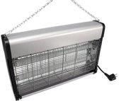 Elektrische insectenverdelger 2x 15 watt vliegenlamp
