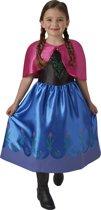 Disney Frozen Anna Classic Jurk Maat 116/122 - Verkleedjurk - Carnavalskleding