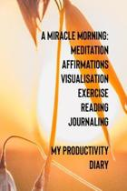 A Miracle Morning Meditation Affirmations Visualisation Exercise Reading Journaling My Productivity Diary