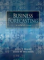 Hanke:Business Forecasting_9