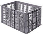 Basil Crate L - Fietskrat - 50 L - Grijs