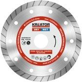 Kreator KRT083101 Diamantschijf Ø125 mm - Premium Turbo- steen/beton/dakpan/graniet