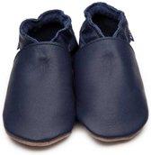 Inch Blue babyslofjes plain navy