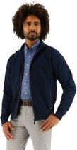 Baileys vest heren zip dark blue_M, maat M