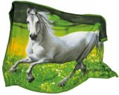 Paarden - Plaid - Fleece - 135 x 175 cm - Multi