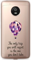 Motorola Moto G5 Plus hoesje Luchtballon