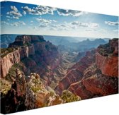 Grand Canyon Cape Royal  Canvas 80x60 cm - Foto print op Canvas schilderij (Wanddecoratie)