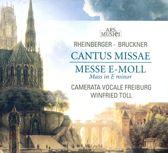 Rheinberger: Cantus Missae; Bruckner: Mass in E minor