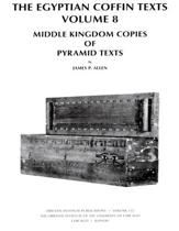 The Egyptian Coffin Texts, Volume 8