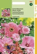 Hortitops Zaden - Zomerbloemen Rose / Rode Tinten
