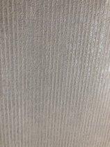 Behang Glanzend strepen wit