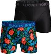 Bjorn Borg BB dramatic flower Heren Boxershort - 2P - Zwart - Maat S
