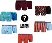 Zaccini 6- Pack Boxershorts Special Deal!, Medium