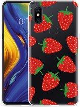 Xiaomi Mi Mix 3 Hoesje Aardbei