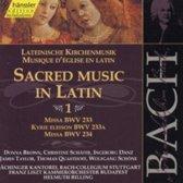 Sacred Music In Latin 1 (Bwv233 / 2