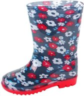 Gevavi Boots Flower meisjeslaars pvc blauw 31