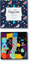 Happy Socks Kids Fruit Salad - 4-Pack Gift Box - Maat 22-24