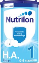 Nutrilon Hypo Allergeen 1 - Zuigelingenvoeding - 750 gram