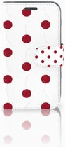 Samsung Galaxy J1 2016 Boekhoesje Design Cherries