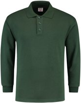 Tricorp Polosweater - Casual - 301004 - Flessengroen - maat 5XL