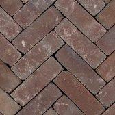 35 stuks! Art brick vermeer vlam 7x20x8.5 cm Gardenlux