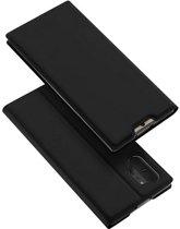 Samsung Galaxy Note 10 Plus hoesje - Dux Ducis Skin Pro Book Case - Zwart