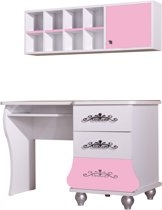 By MM Prinses - Bureau - 123 cm - Roze