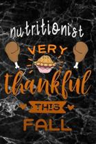 Nutritionist very thankful this fall: black marble Gratitude Journal for More Mindfulness, Happiness and Productivity The Perfect Gift for women, men