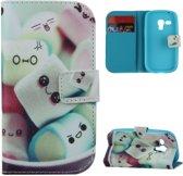 iCarer Candy print wallet case hoesje Samsung Galaxy S3 mini
