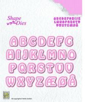 Nellies Choice Shape Mal - Alfabet 3 SD080
