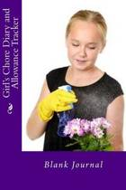 Girl's Chore Diary and Allowance Tracker
