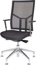 24Designs Bureaustoel Office Oxford - Netwave - Zwart