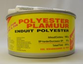 Polyester Plamuur wit (incl. verharder) 2000g
