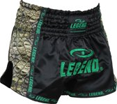 Legend Trendy, Nieuwste Model Kickboks broekje Green Crock  S
